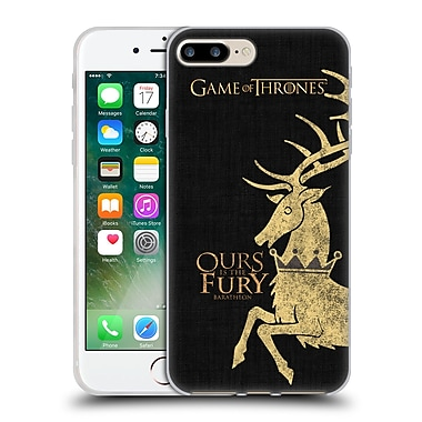 Official Hbo Game Of Thrones House Mottos Baratheon Soft Gel Case For Apple Iphone 7 Plus