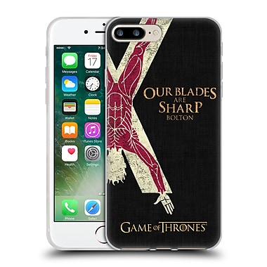 Official Hbo Game Of Thrones House Mottos Bolton Soft Gel Case For Apple Iphone 7 Plus