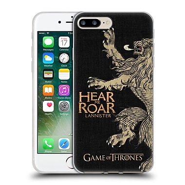 Official Hbo Game Of Thrones House Mottos Lannister Soft Gel Case For Apple Iphone 7 Plus
