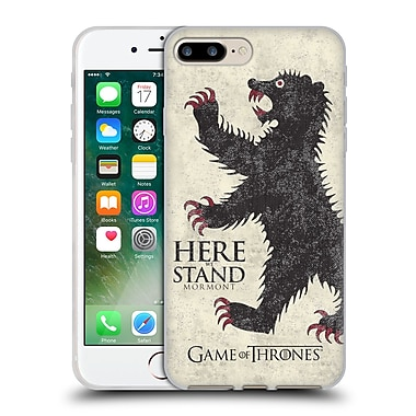 Official Hbo Game Of Thrones House Mottos Mormont Soft Gel Case For Apple Iphone 7 Plus