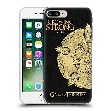 Official Hbo Game Of Thrones House Mottos Tyrell Soft Gel Case For Apple Iphone 7 Plus