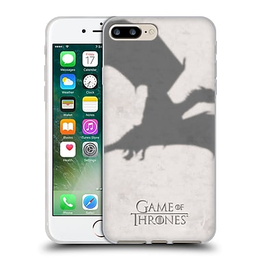 Official Hbo Game Of Thrones Key Art Dragon Soft Gel Case For Apple Iphone 7 Plus