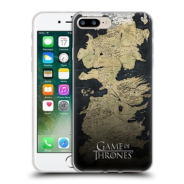 Official Hbo Game Of Thrones Key Art Westeros Map Soft Gel Case For Apple Iphone 7 Plus
