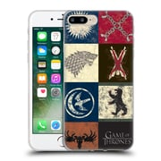 Official Hbo Game Of Thrones Battle Of The Bastards House Sigils Soft Gel Case For Apple Iphone 7 Plus
