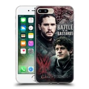 Official Hbo Game Of Thrones Battle Of The Bastards Jon Versus Ramsay Soft Gel Case For Apple Iphone 7 Plus