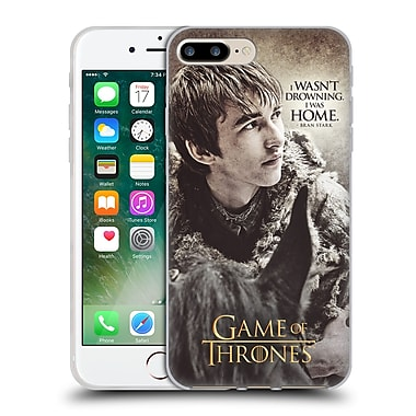 Official Hbo Game Of Thrones Character Quotes Bran Stark Soft Gel Case For Apple Iphone 7 Plus