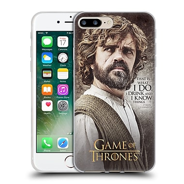 Official Hbo Game Of Thrones Character Quotes Tyrion Lannister Soft Gel Case For Apple Iphone 7 Plus