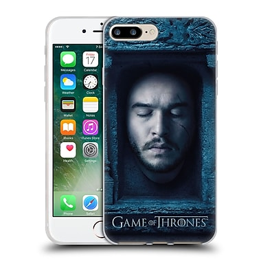 Official Hbo Game Of Thrones Faces Jon Snow Soft Gel Case For Apple Iphone 7 Plus