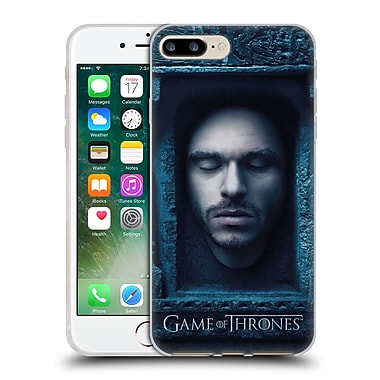 Official Hbo Game Of Thrones Faces Robb Stark Soft Gel Case For Apple Iphone 7 Plus