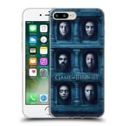 Official Hbo Game Of Thrones Faces 2 Six Heads Soft Gel Case For Apple Iphone 7 Plus