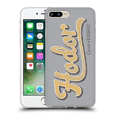 Official Hbo Game Of Thrones Hodor Athletic Typography Soft Gel Case For Apple Iphone 7 Plus