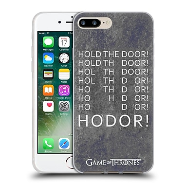 Official Hbo Game Of Thrones Hodor Hold The Door 2 Soft Gel Case For Apple Iphone 7 Plus