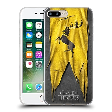 Official Hbo Game Of Thrones Sigil Flags Baratheon Soft Gel Case For Apple Iphone 7 Plus