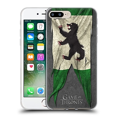 Official Hbo Game Of Thrones Sigil Flags Mormont Soft Gel Case For Apple Iphone 7 Plus
