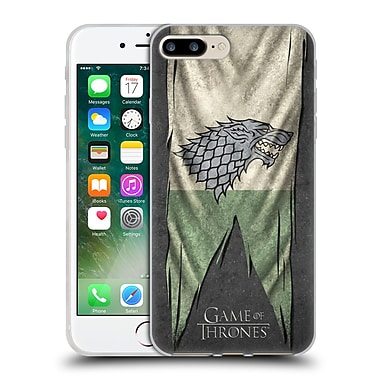 Official Hbo Game Of Thrones Sigil Flags Stark Soft Gel Case For Apple Iphone 7 Plus