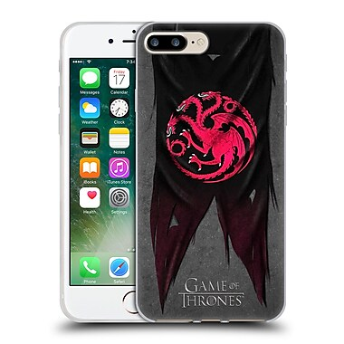 Official Hbo Game Of Thrones Sigil Flags Targaryen Soft Gel Case For Apple Iphone 7 Plus