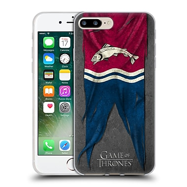 Official Hbo Game Of Thrones Sigil Flags Tully Soft Gel Case For Apple Iphone 7 Plus