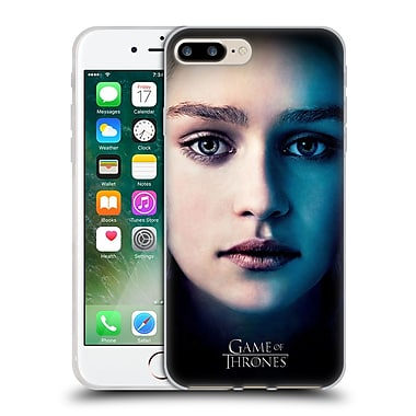 Official Hbo Game Of Thrones Valar Morghulis Daenerys Targaryen Soft Gel Case For Apple Iphone 7 Plus