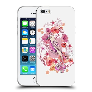 Official Monika Strigel Animals And Flowers Bird Soft Gel Case For Apple Iphone 5 / 5S / Se