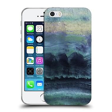 Official Monika Strigel Agate Gemstone Blue Soft Gel Case For Apple Iphone 5 / 5S / Se