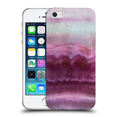 Official Monika Strigel Agate Gemstone Pink Soft Gel Case For Apple Iphone 5 / 5S / Se