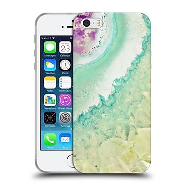 Official Monika Strigel Amethyst Gold Mint Soft Gel Case For Apple Iphone 5 / 5S / Se