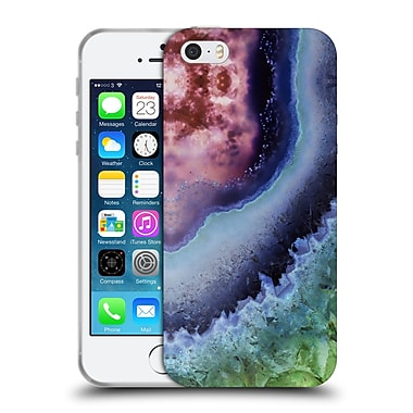 Official Monika Strigel Amethyst Midnight Soft Gel Case For Apple Iphone 5 / 5S / Se