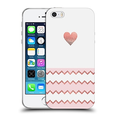 Official Monika Strigel Avalon Heart Coral Soft Gel Case For Apple Iphone 5 / 5S / Se