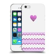 Official Monika Strigel Avalon Heart Purple Soft Gel Case For Apple Iphone 5 / 5S / Se