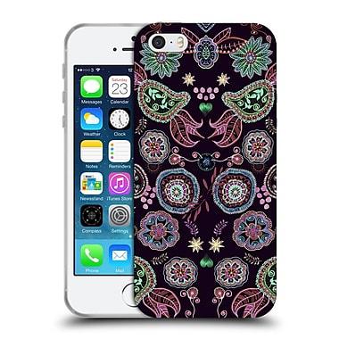Official Monika Strigel Bring Me Flowers Black Soft Gel Case For Apple Iphone 5 / 5S / Se