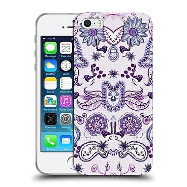 Official Monika Strigel Bring Me Flowers Purple Soft Gel Case For Apple Iphone 5 / 5S / Se