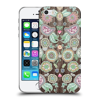 Official Monika Strigel Bring Me Flowers 3 Boho Soft Gel Case For Apple Iphone 5 / 5S / Se