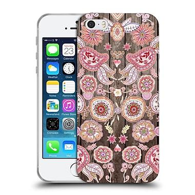 Official Monika Strigel Bring Me Flowers 3 Pink 2 Soft Gel Case For Apple Iphone 5 / 5S / Se