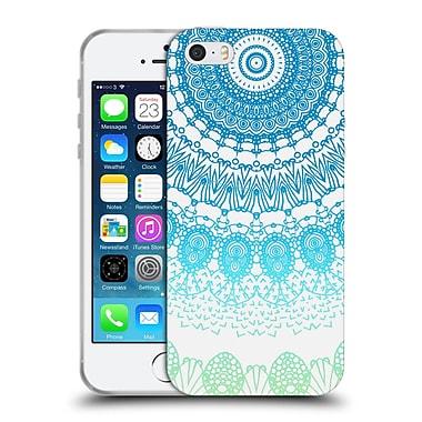 Official Monika Strigel Boho Lace Ombre Blue Soft Gel Case For Apple Iphone 5 / 5S / Se