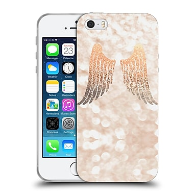 Official Monika Strigel Champagne Gold Wings Soft Gel Case For Apple Iphone 5 / 5S / Se