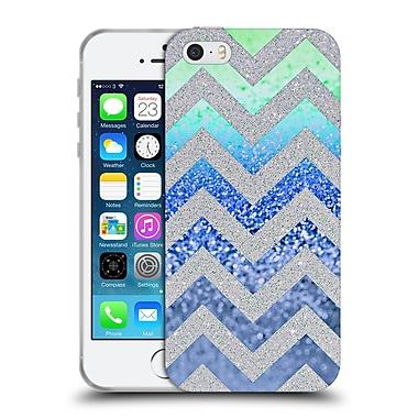 Official Monika Strigel Funky Chevron Blueberry Soft Gel Case For Apple Iphone 5 / 5S / Se