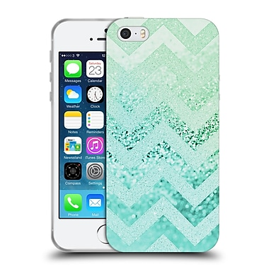 Official Monika Strigel Funky Chevron Waterfall Soft Gel Case For Apple Iphone 5 / 5S / Se