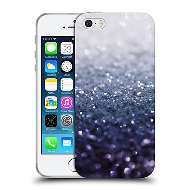 Official Monika Strigel Frozen Glitter Navy Soft Gel Case For Apple Iphone 5 / 5S / Se
