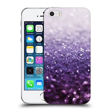 Official Monika Strigel Frozen Glitter Purple Soft Gel Case For Apple Iphone 5 / 5S / Se
