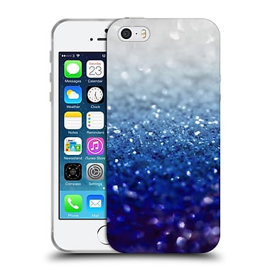 Official Monika Strigel Frozen Glitter Royal Blue Soft Gel Case For Apple Iphone 5 / 5S / Se