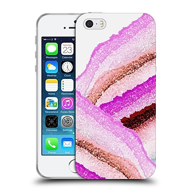Official Monika Strigel Flawless Wraps Pink Berry Soft Gel Case For Apple Iphone 5 / 5S / Se