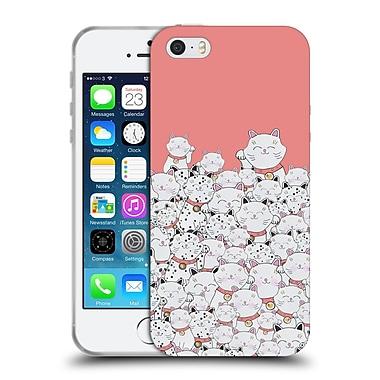 Official Monika Strigel Find The Panda Coral Soft Gel Case For Apple Iphone 5 / 5S / Se