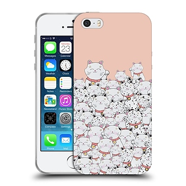 Official Monika Strigel Find The Panda Peach Soft Gel Case For Apple Iphone 5 / 5S / Se