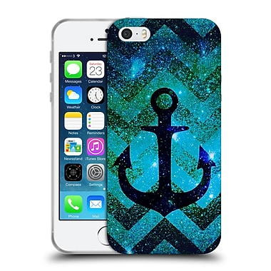 Official Monika Strigel Galaxy Anchors Emerald Soft Gel Case For Apple Iphone 5 / 5S / Se