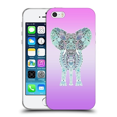 Official Monika Strigel Gypsy Elephant Lavender Soft Gel Case For Apple Iphone 5 / 5S / Se