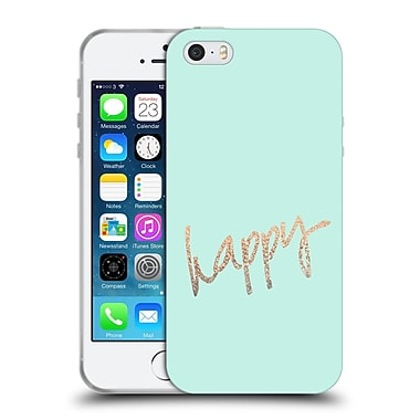 Official Monika Strigel Gold And Happy Mint Soft Gel Case For Apple Iphone 5 / 5S / Se