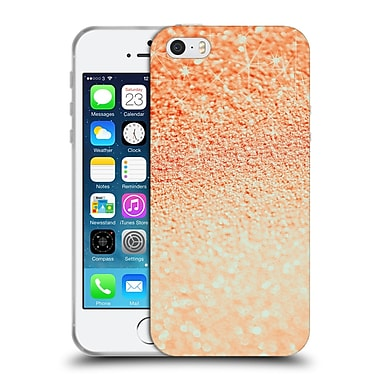Official Monika Strigel Glitters Coral 2 Soft Gel Case For Apple Iphone 5 / 5S / Se