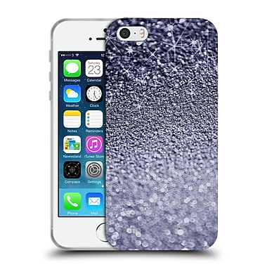 Official Monika Strigel Glitters Dark Silver Soft Gel Case For Apple Iphone 5 / 5S / Se