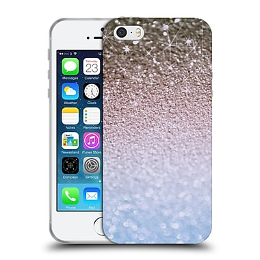 Official Monika Strigel Glitters Glamour Blue Soft Gel Case For Apple Iphone 5 / 5S / Se