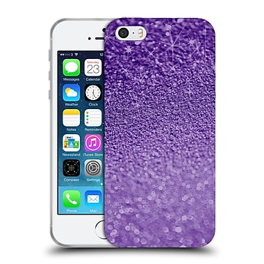 Official Monika Strigel Glitters Purple Soft Gel Case For Apple Iphone 5 / 5S / Se
